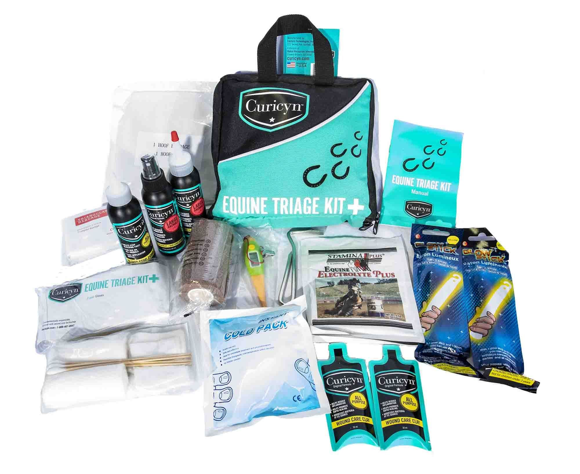 Curicyn's Equine Triage Kit - Animal Health Express