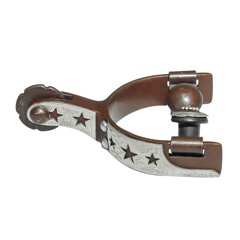 Partrade Baby Western Spurs with Star Cut-Outs