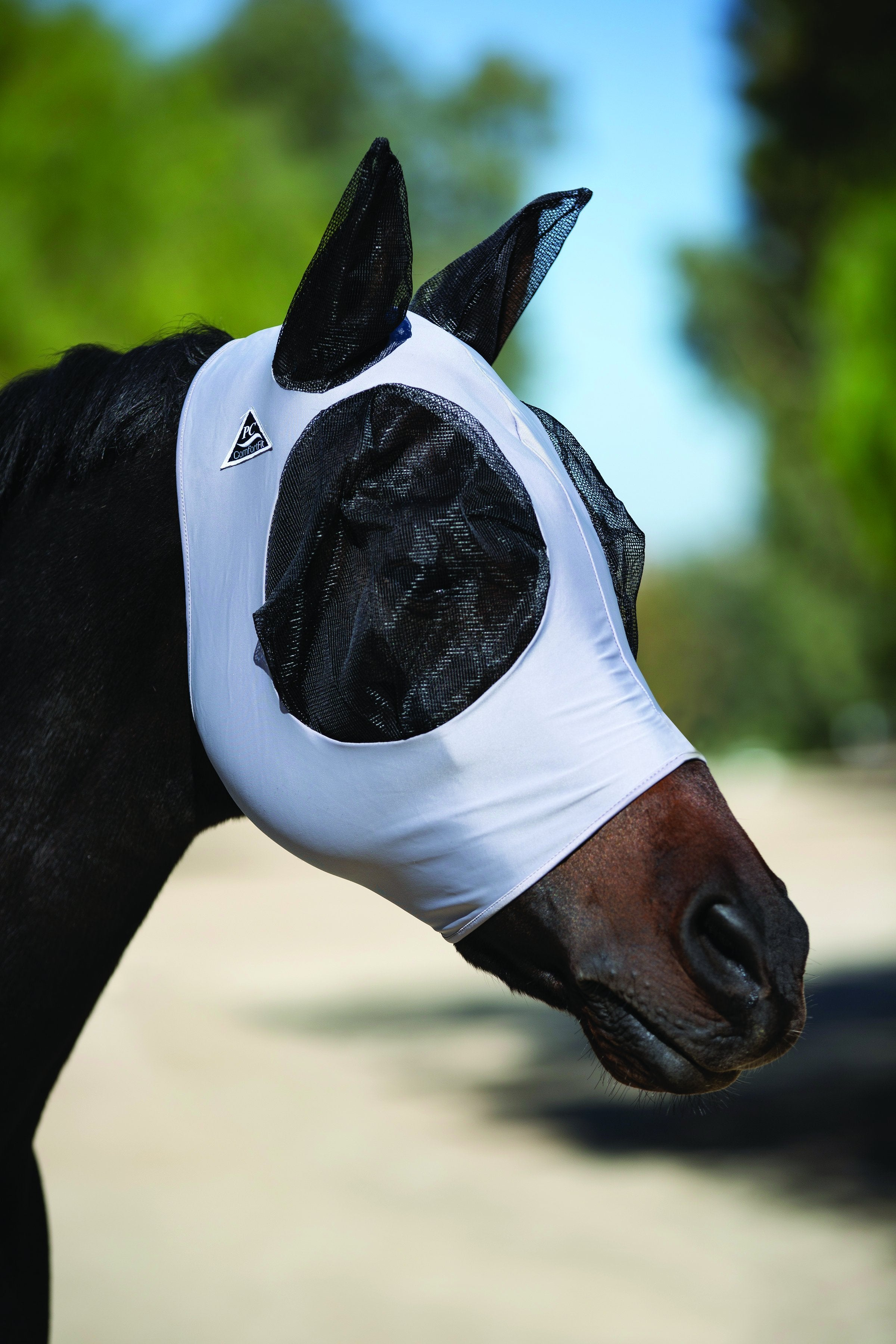 Professional's Choice Lycra Fly Mask - Animal Health Express
