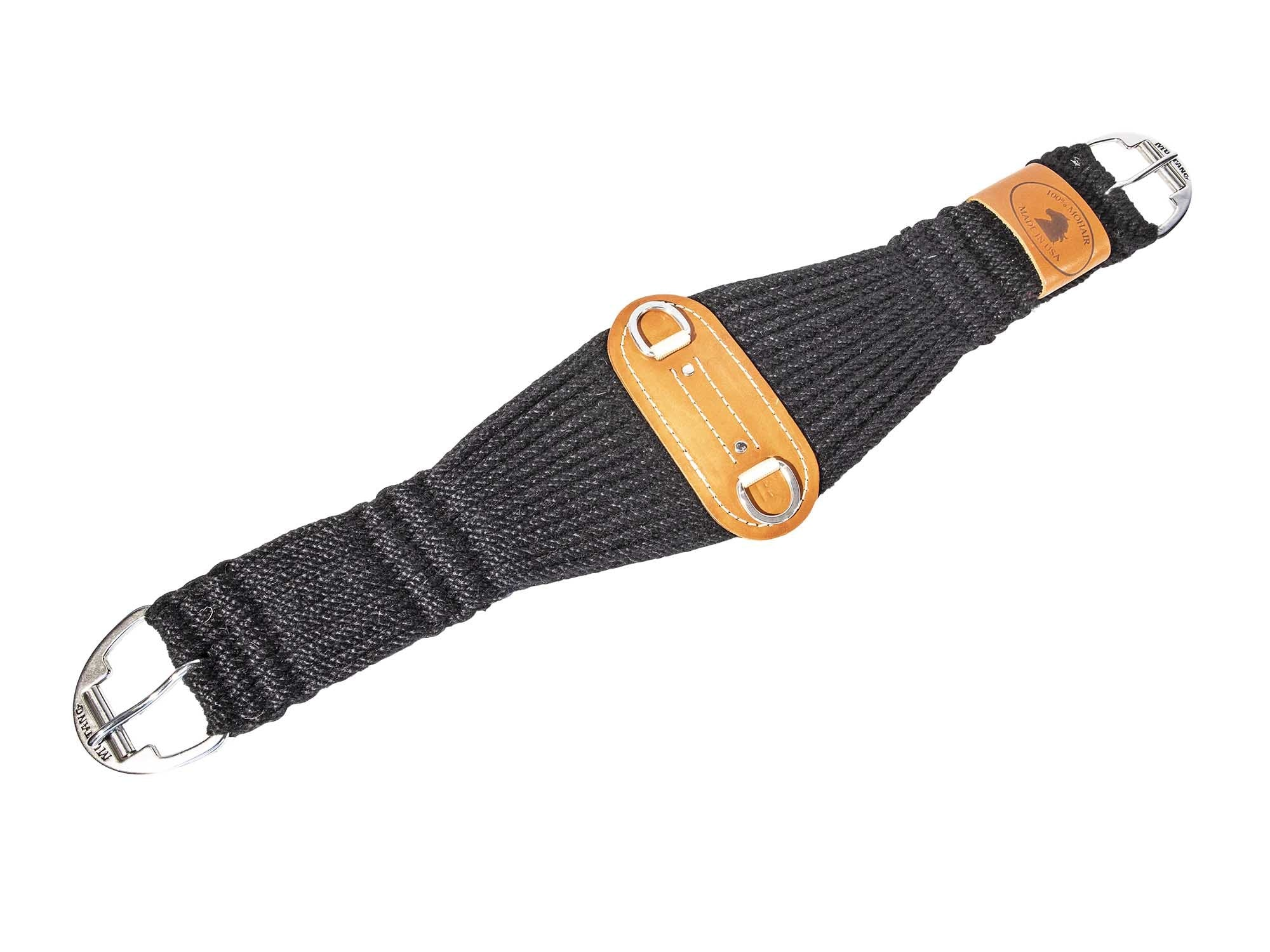 Mustang Black Mohair Roper Cinch