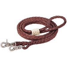 Weaver Leather Braided Latigo Roper Rein