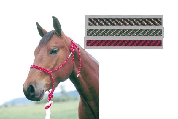 Double Diamond Rope Halter–Weanling - Animal Health Express