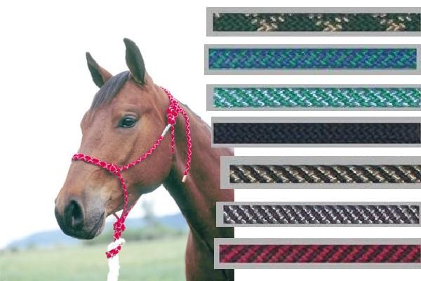 Double Diamond Rope Halter–Yearling - Animal Health Express