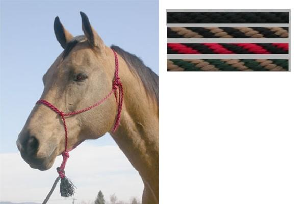 Poly Trail Halter With Lead - Vaquera