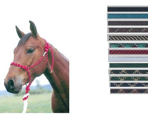 Double Diamond Rope Halter-Horse - Vaquera