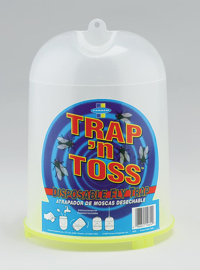 Trap 'N Toss Fly Trap - Animal Health Express