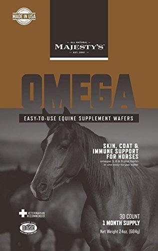 Majesty's Omega Wafers Horse Supplements - Vaquera