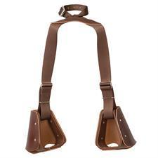 Weaver Leather Child-sized Stirrups with Tapaderos