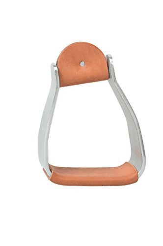 Weaver's Sloped Aluminum Stirrup - Vaquera