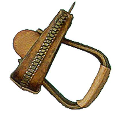 Roper Stirrups-Leather - Vaquera