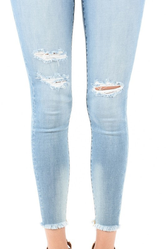Nature Denim Light Wash Skinny