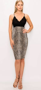 The Perfect Leopard Cocktail Dress