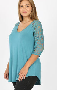 Tell All Lace Tunic