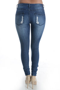 Temper Tantrum Distressed Denim