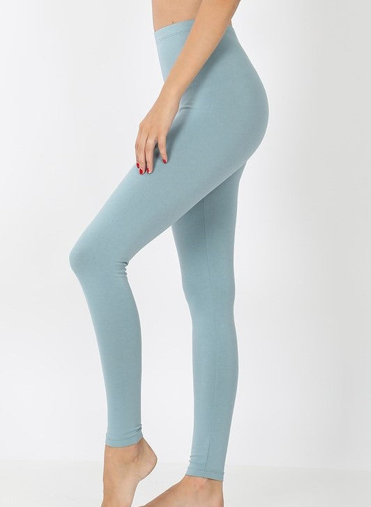 Dusty Blue Leggings