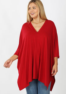 Ruby Center Band Poncho