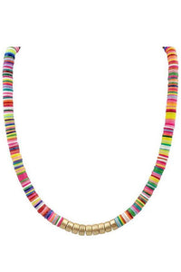 Tutti Fruiti Banded Necklace