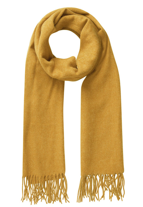 PcJira Wool Scarf Nugget Gold