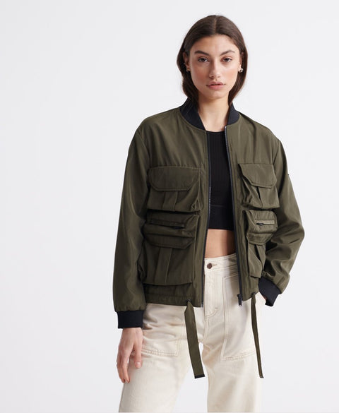 Namid Pockets Bomber Jacket