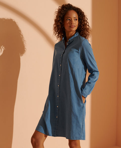 SuperDry Classic Preppy Shirt Dress
