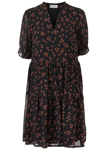 Erica Print Dress Forest Flower