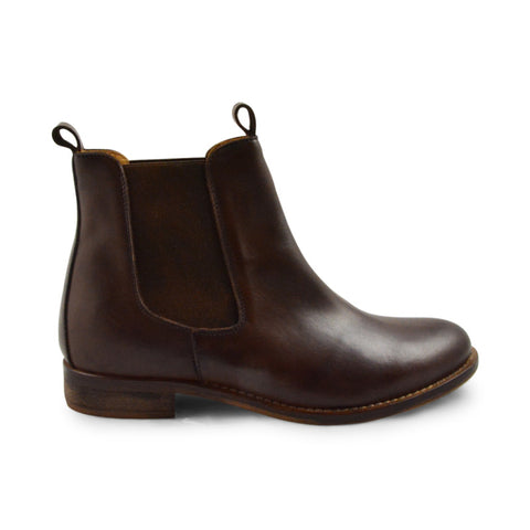 Emma Chelsea Brown Leather