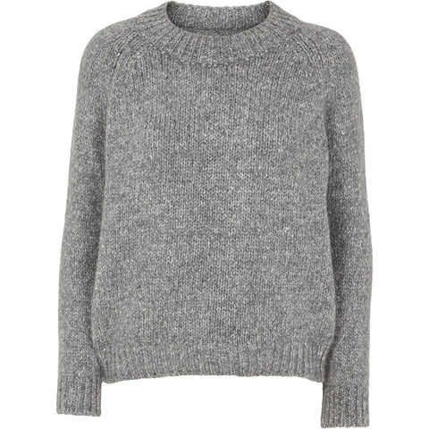 Aliki Sweater Light Grey Melange
