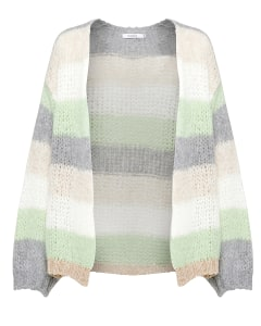 Kala Cardigan Aquagreen Stripe