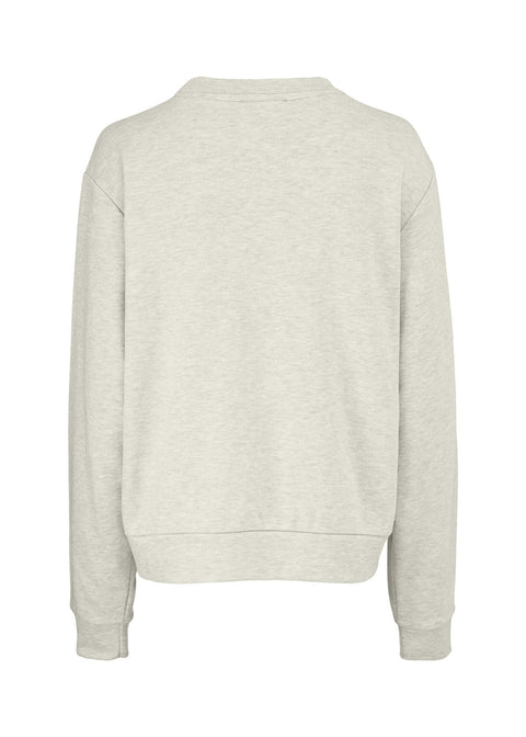 Holly Sweat Shirt Grey Melange