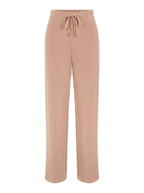 PcRise MW Wide Pant Lounge Warm Taupe