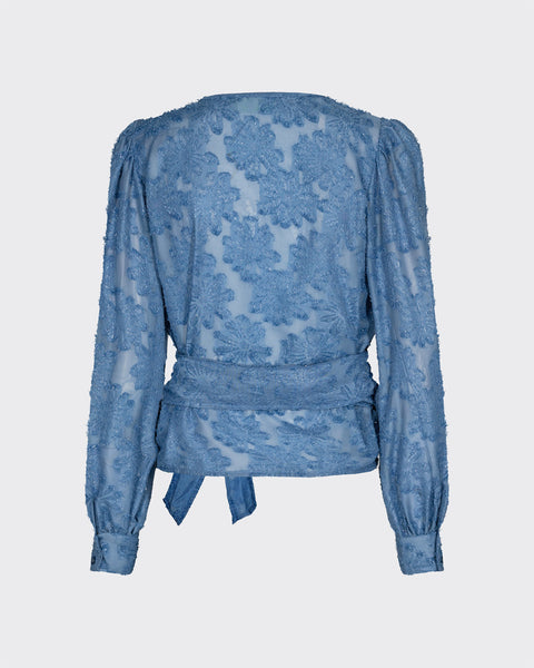Moves Patti long sleeved shirt Blue