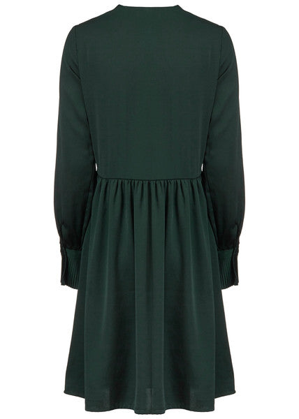 Foster Dress Empire Green