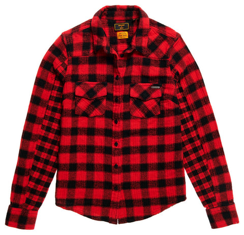 Buffalo Flannel Shirt Red Check