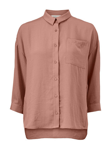 Alexis Shirt Raw Umber