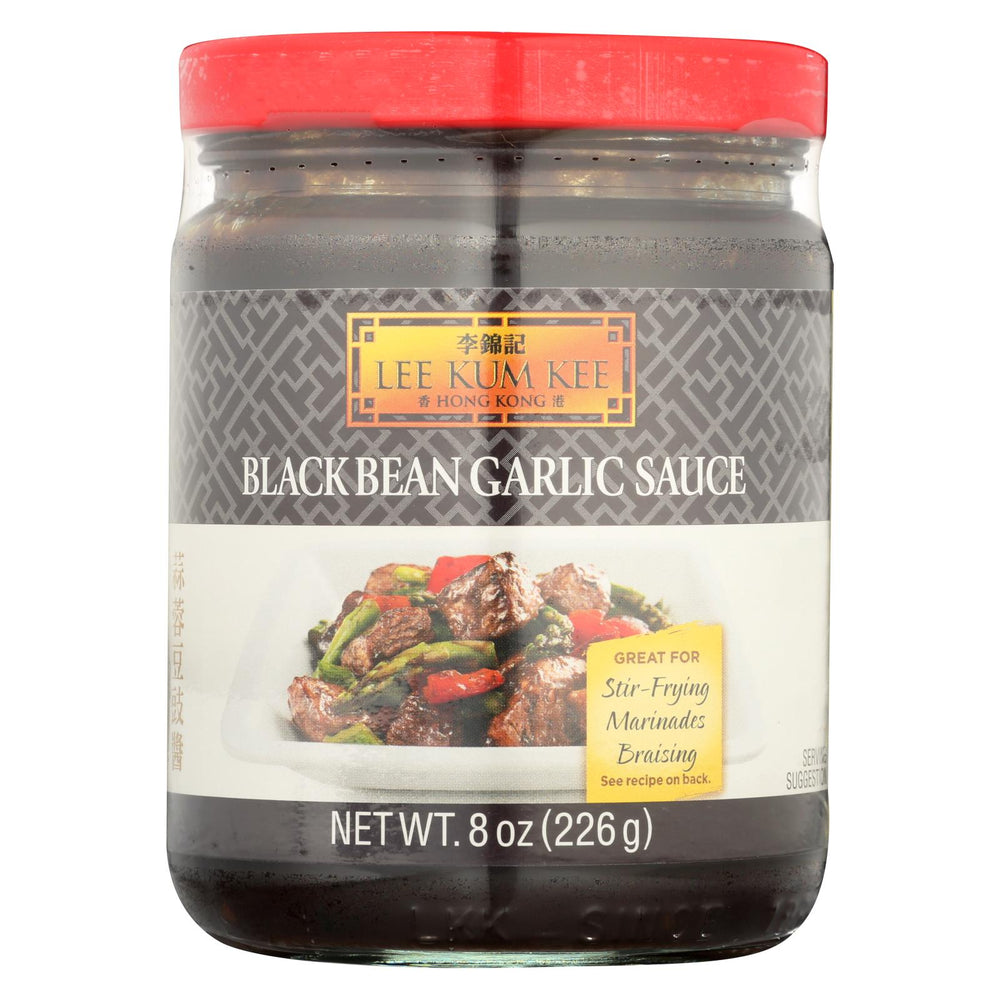 Lee Kum Kee Sauce - Black Bean Garlic - Case Of 6 - 8 Oz.