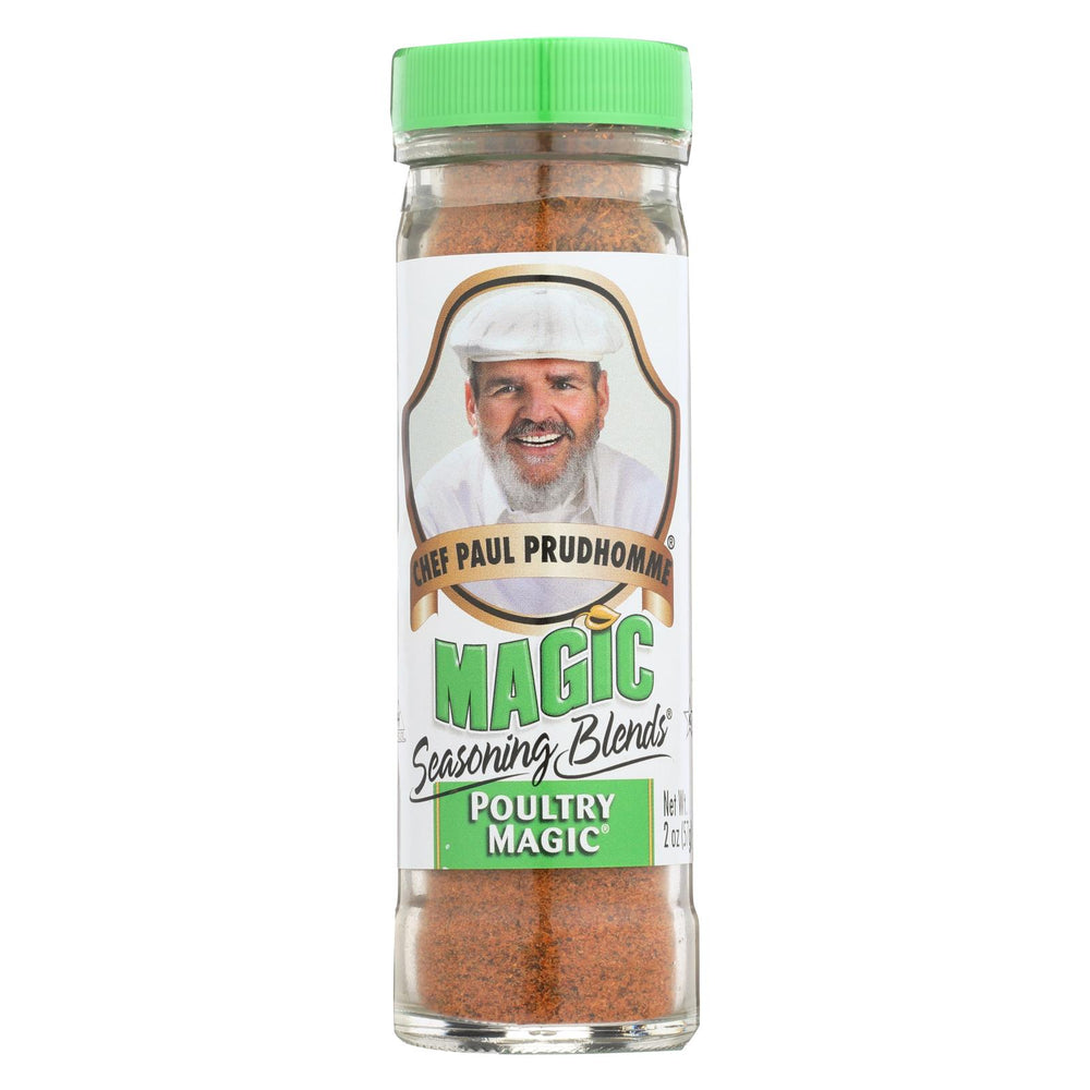 Magic Seasonings Chef Paul Prudhommes Magic Seasoning Blends - Poultry Magic - 2 Oz - Case Of 6