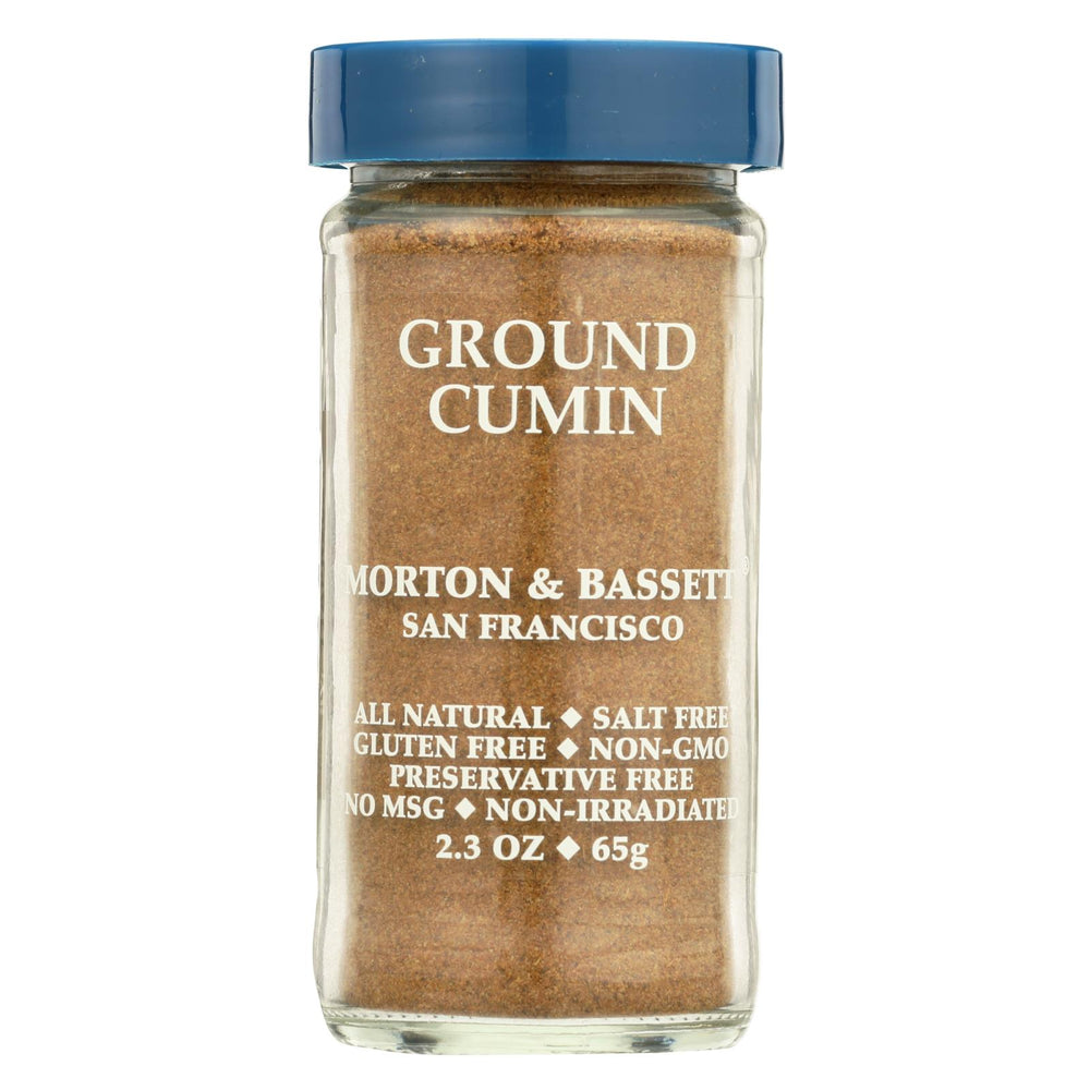 Morton And Bassett Seasoning - Cumin - Ground - 2.3 Oz - Case Of 3