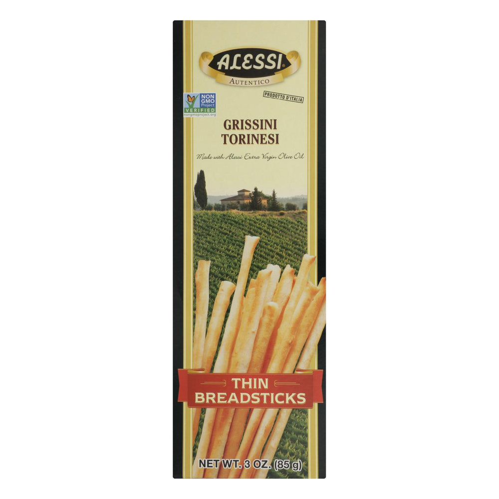 Alessi - Breadsticks - Thin - Case Of 6 - 3 Oz.