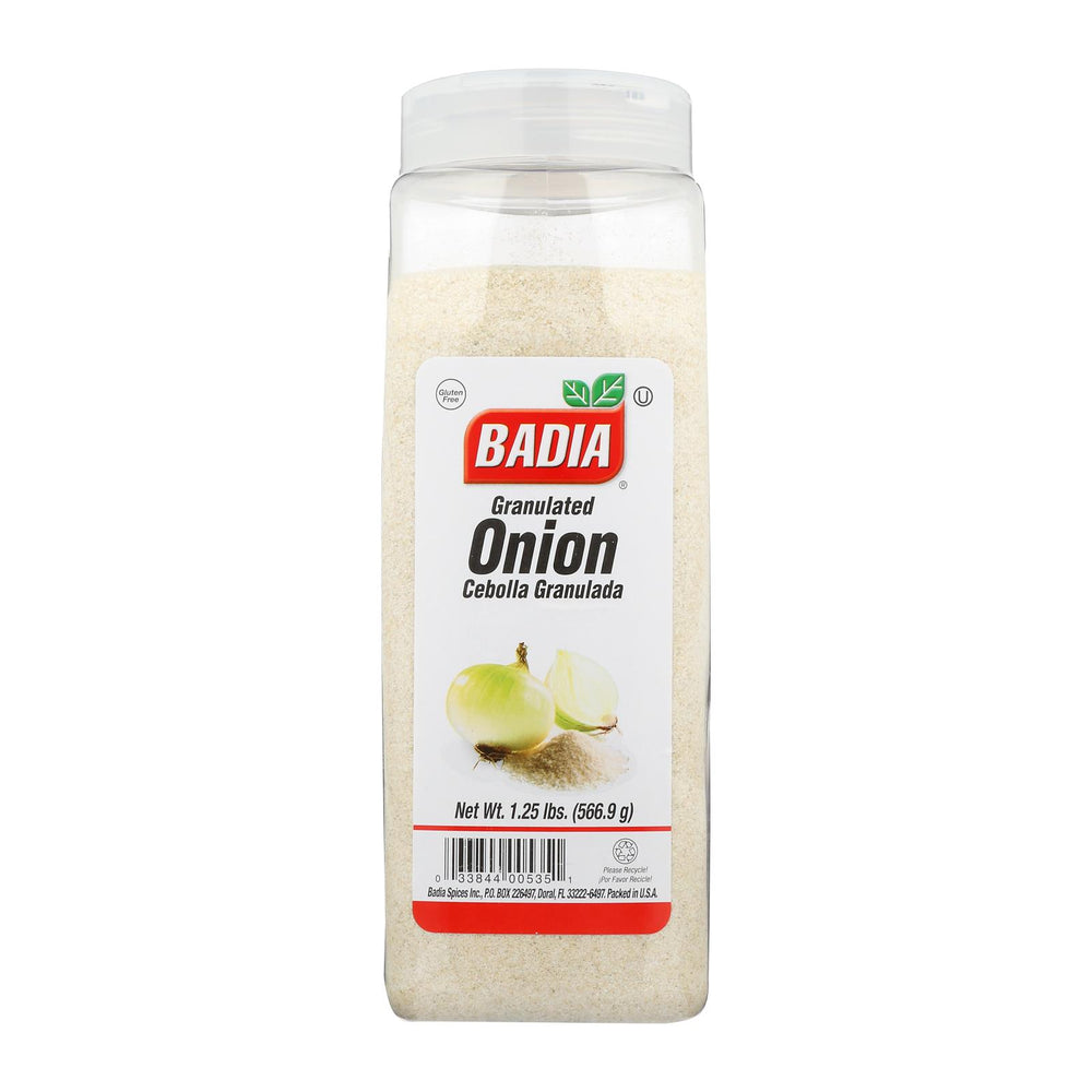 Badia Spices - Onion - Powder - Case Of 6 - 1.25 Lb.