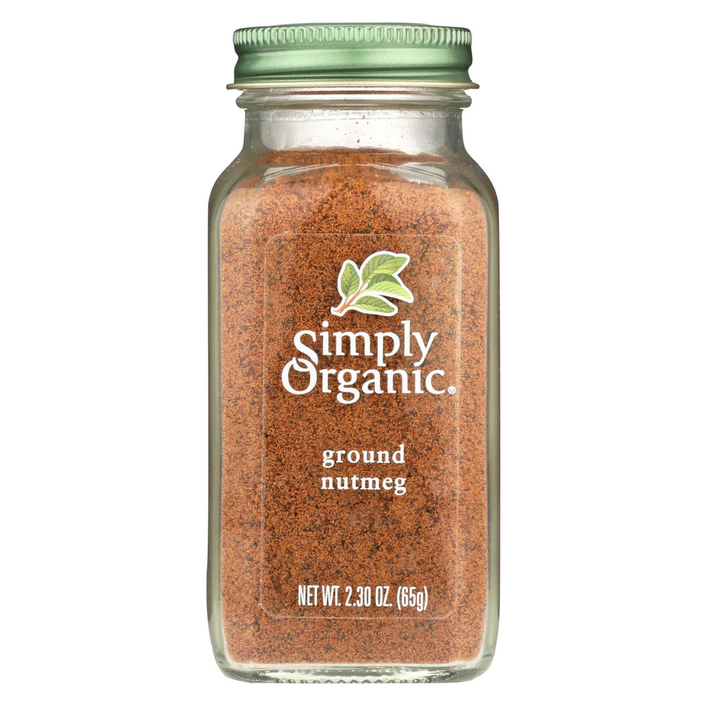 Simply Organic Nutmeg - Organic - Ground - 2.3 Oz