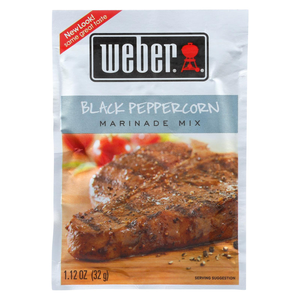 Weber Grill Creations Marinade - Black Peppercorn - Case Of 12 - 1.12