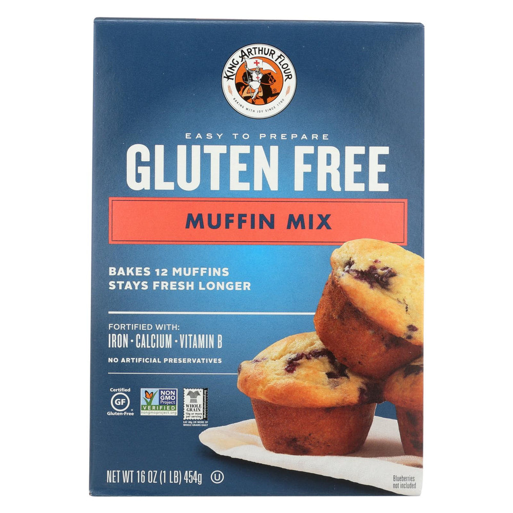 King Arthur Muffin Mix - Case Of 6 - 16 Oz.