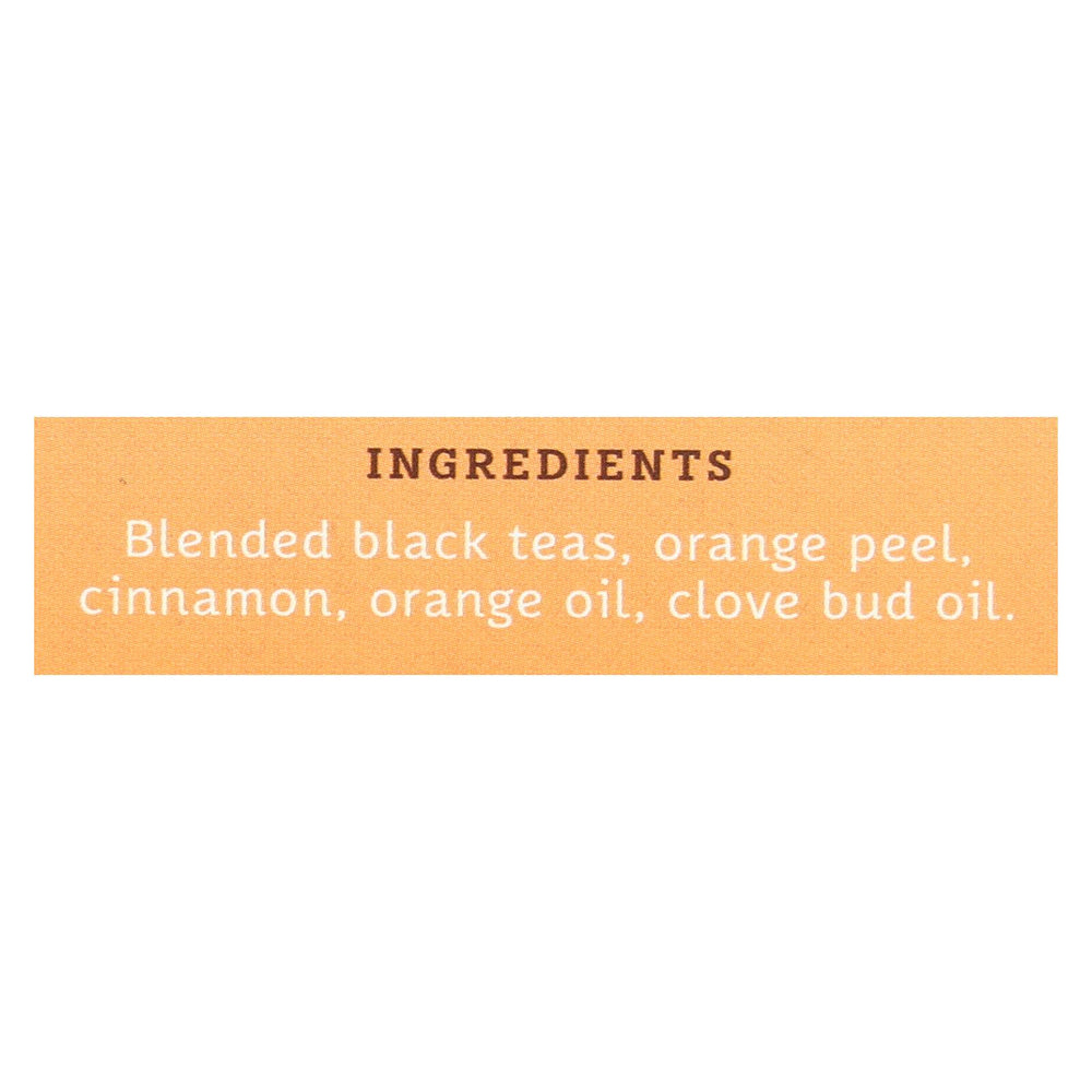 Stash Tea Tea - Black - Orange Spice - Case Of 6 - 20 Count