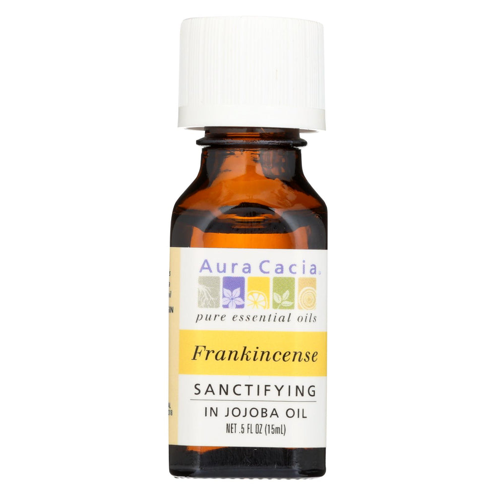 Aura Cacia - Frankincense In Jojoba Oil - .5 Oz