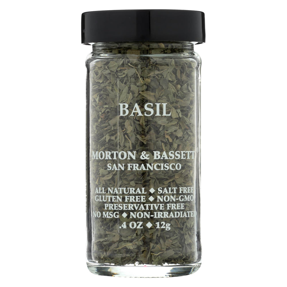 Morton And Bassett Basil - .5 Oz - Case Of 3
