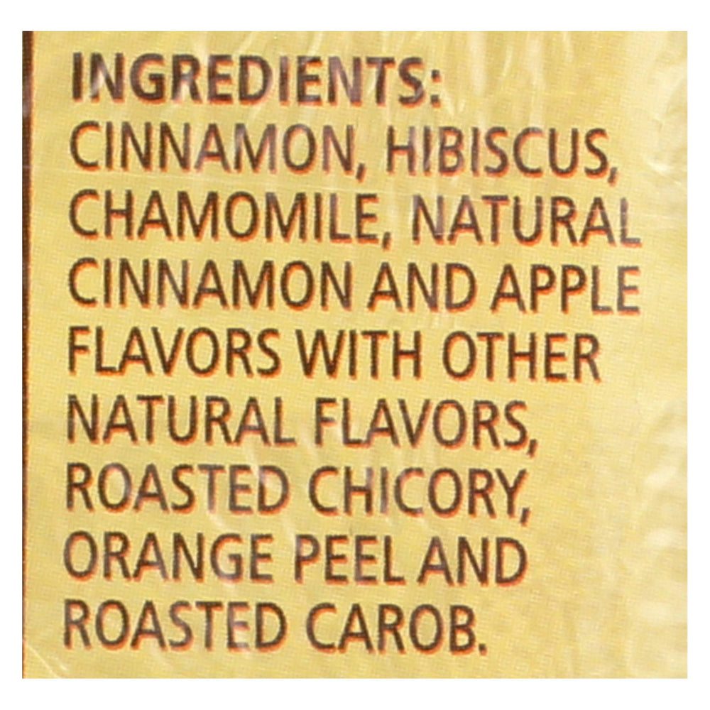 Celestial Seasonings Herbal Tea Caffeine Free Cinnamon Apple Spice - 20 Tea Bags - Case Of 6