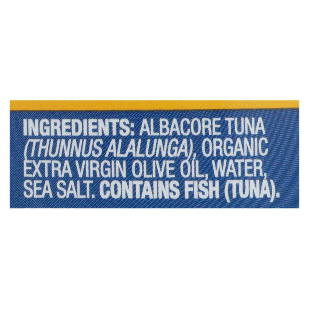 Wild Planet Wild Albacore Tuna In Extra Virgin Olive Oil - Case Of 12 - 5 Oz.