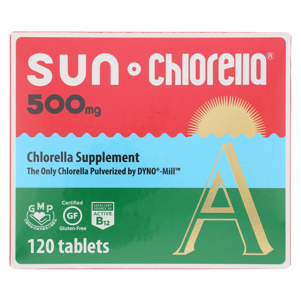 Sun Chlorella A Tablets - 500 Mg - 120 Tablets
