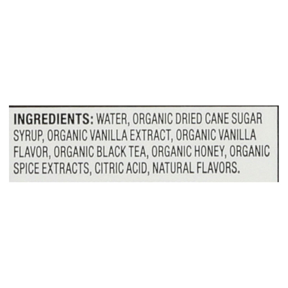 Oregon Chai Tea Latte Concentrate - Vanilla - Case Of 6 - 32 Fl Oz.