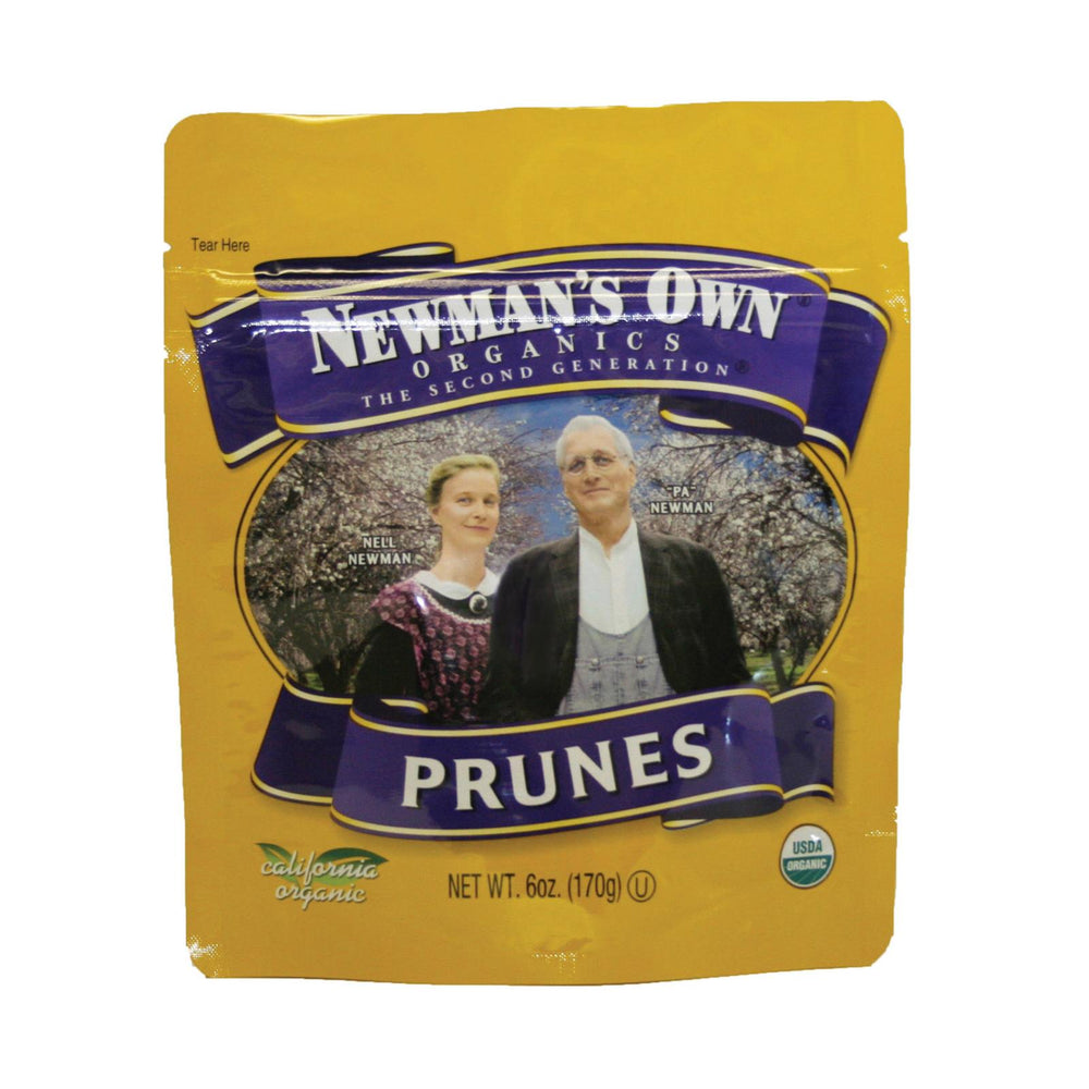 Newman's Own Organics Pitted Prunes - Organic - Case Of 12 - 6 Oz.